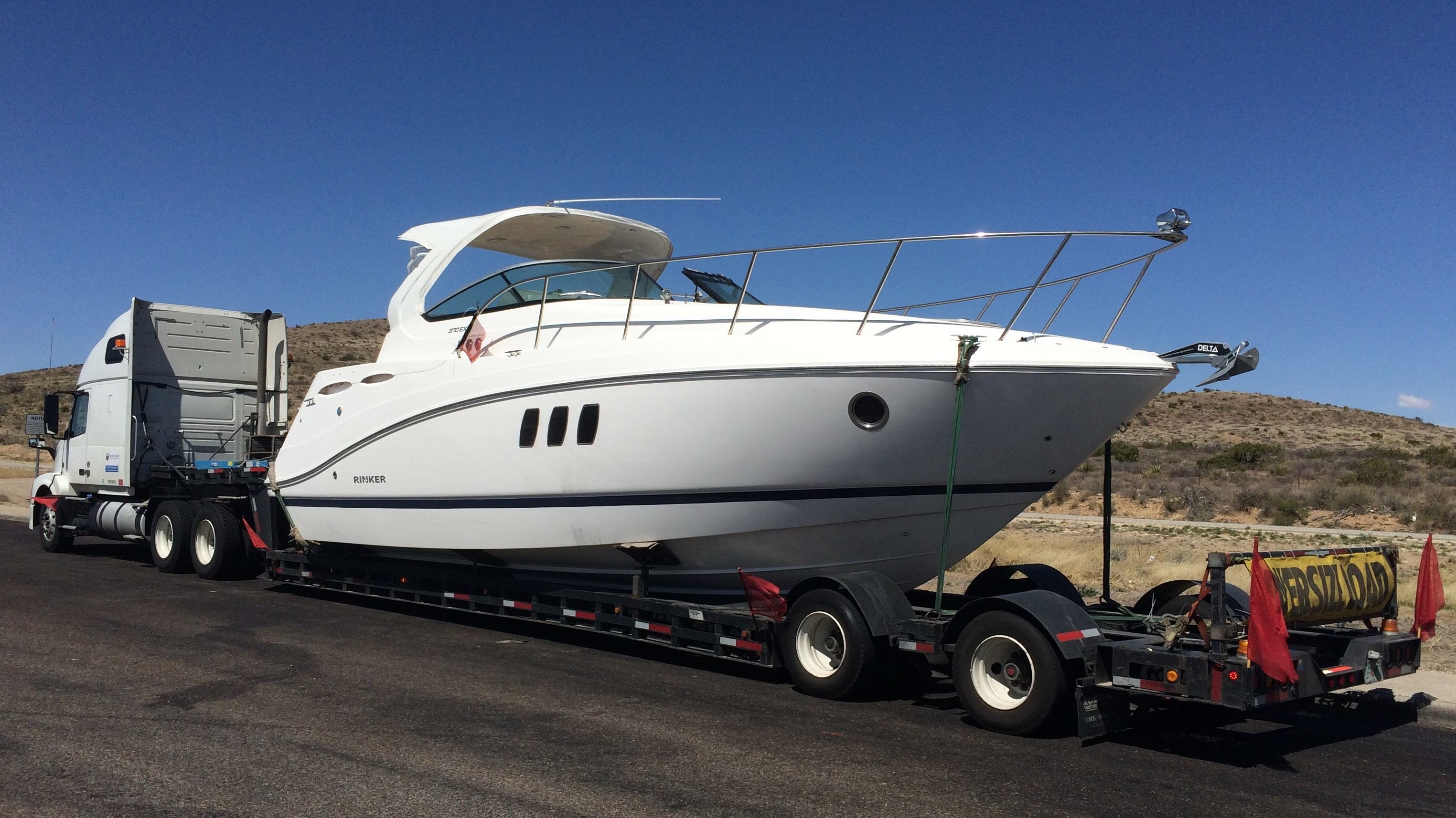 Oversize Boat Transport Services by Yacht trucking