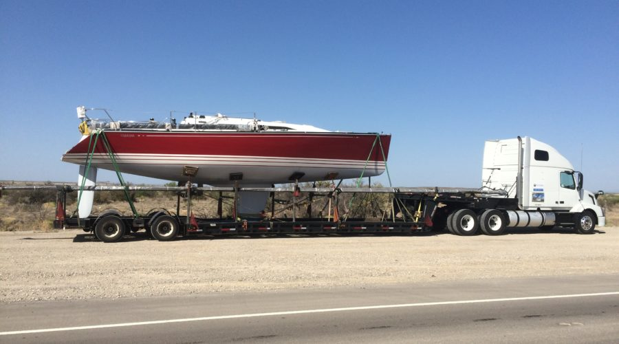 Boat Transport Preparation for Road and Ocean