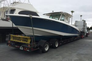 Connecting Boat Transports coast-to-coast boat trucking service